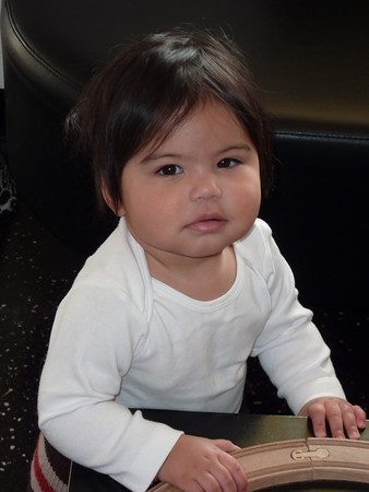 when to give a baby girl bangs  babycenter